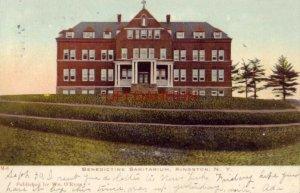 pre-1907 BENEDICTINE SANITARIUM, KINGSTON, N.Y. 1906