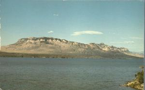 Sheep Mountain at Buffalo Bill Reservoir near Cody WY, Wyoming