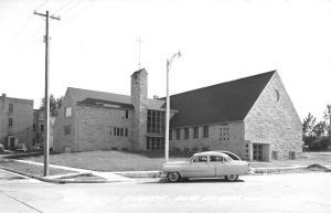 Blue Earth Minnesota Methodist Church Real Photo Antique Postcard K15982