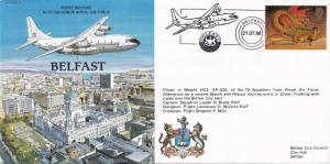 Short Belfast Aircraft Historic Flight Plane First Day Cover