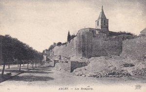 ARLES, Bouches-du-Rhone, France, 1900-1910s; Les Remparts