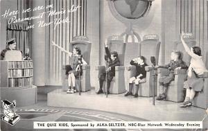 Medicine Advertising Old Vintage Antique Post Card Quiz Kids, Alka Seltzer St...