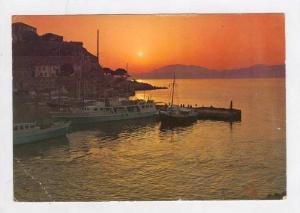 Hydra - Sunset in port, Greece, PU-1975
