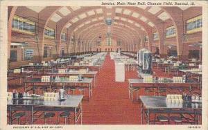 Illinois Rantoul Interior Main Mess Hall Chanute Field