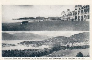 Tadousac Hotel , Saguenay , Quebec , Canada , 1930s