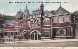 New Imperial Bath House, HOT SPRINGS, Arkansas, PU-1916