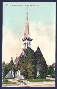 St Lukes Church Tacoma WA unused c1910