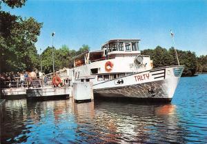 Poland Ruciane Nida Przystan Zeglugi Mazurskiej Boat Talty
