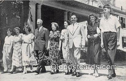 John Dewey Governor & Mrs Warren Patriotic Unused