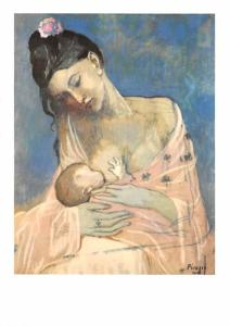 Pablo Picasso - Breastfeeding
