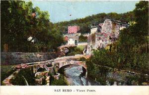 CPA SAN REMO Vieux Ponts ITALY (506572)