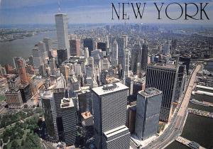 USA New York Manhattan Island Panoramic view Buildings