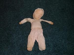 Cloth Sawdust Filled Baby Doll