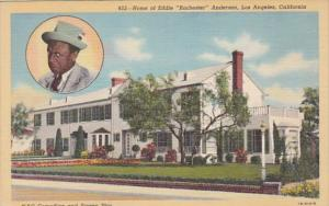 California Los Angeles Home Of Eddie Rochester Anderson Curteich