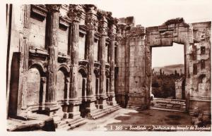 Baalbeck Baalbek Lebanon Bacchus Temple Real Photo Postcard
