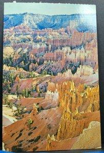 Vintage Postcard Bryce Canyon National Park Amphitheater Utah