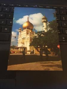 Vintage Postcard: Masjid Sultan Mosque, Singapore