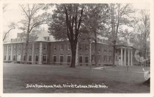 Olivet College MI~Cornelius Is Here For A Conference~Dale Dormitory~RPPC 1951