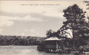Maine North Windham Cabin On Lake Camp Aimhi Artvue