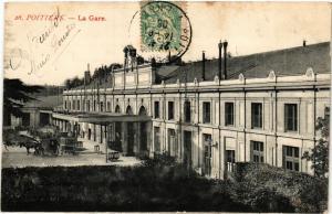 CPA POITIERS - La Gare (255709)