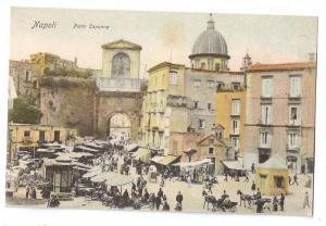 Napoli Porta Capuana Market ca. 1908 Naples Italy UDB