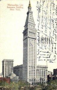Metropolitan Life Insurance Building New York, USA Unused
