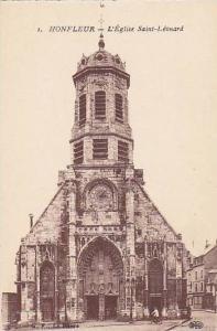 L'Eglise Saint-Leonard, Honfleur (Calvados), France, 1900-1910s