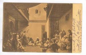 Musee du Louvre, Ferdinand Eugene Delacroix: Une Noce Juive Dans Le Maroc, Af...
