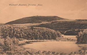 Wachusett Mountain - Princeton MA, Massachusetts - pm 1922 - DB