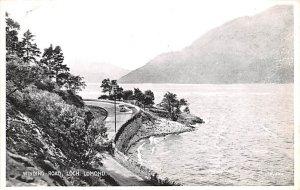 Winding Road Loch Lomond Scotland, UK Unused