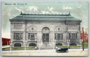 St Louis MO Early Vintage Car @ Crow Memorial Hall~Facing the Front~Razed 1918