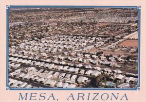 MESA, Arizona, 1950-1970's; Aerial View, An Ocean Of Mobile Homes