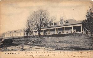 A23/ Bradford Pennsylvania Pa Postcard 1906 Country Club Building