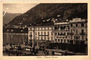 CPA Como Piazza Cavour . ITALY (498923)