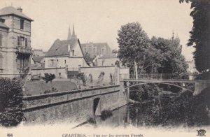 CHARTRES, France,1910-1920s, Vue sur les anciens Fosses