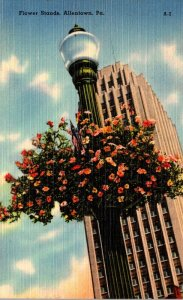 Pennsylvania Allentown Flower Stands