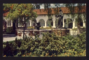 Mission Hills, California/CA Postcard, San Fernando Mission, 1955!
