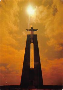 Portugal Lisboa Statue Monument Postcard