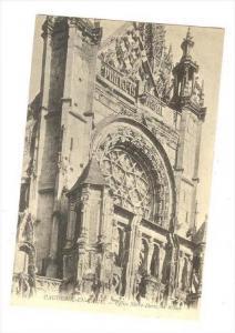 Eglise Notre-Dame, La Rosace, Caudebec-en-Caux (Seine Maritime), France, 1900...