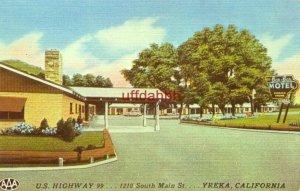 BEN-BER MOTEL U.S Highway 99 YREKA, CA.