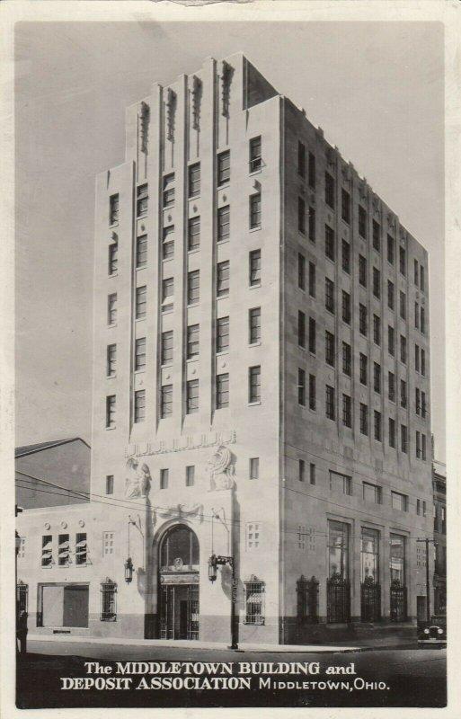 RP: MIDDLETOWN , Ohio, 1930s ; Middletown Bldg & Deposit Association