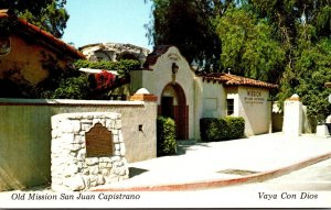 California Mission San Juan Capistrano Entrance