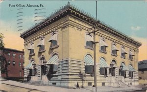 ALTOONA, Pennsylvania, PU-1912; Post Office