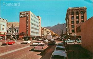 MT, Missoula, Montana, Broadway Looking East, Dexter Press No. 42240-B