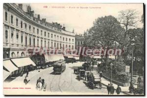Postcard Old Toulouse Place and Lafayette Square