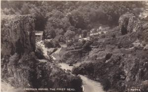 RP: Cheddar Gorge , England , 30-40s ; The First Bend
