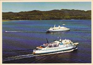 British Columbia Ferry Queen Of Prince Rupert & Queen Of The North Port Hardy...