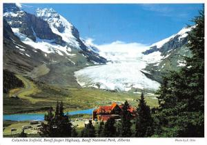 Canada Columbia Icefield, Banff Jasper Highway, Banff National Park Alberta