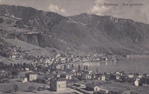 MONTREUX, Switzerland, 1900-1910's; Vue Generale