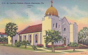 Florida Clearwater Saint Cecilias Catholic Church 1952